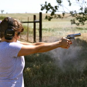 women at the range